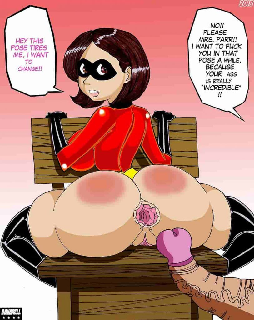 incredibles porn comics