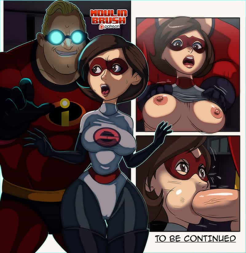 incredibles sex comic